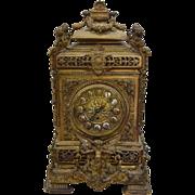 7821 Bronze Bracket Clock