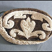 Exceptional Vintage Beaded Clutch Purse
