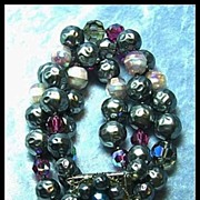 Captivating Simulated Baroque Pearl and Crystal Bracelet****