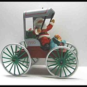 Hallmark Collector's Series Festive Surrey - Here Comes Santa