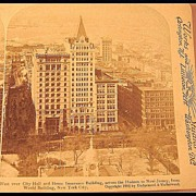 New York City - Underwood & Underwood Stereo View