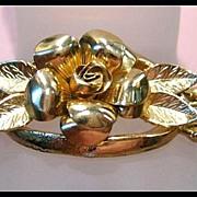 Most Unusual Coro Pegasus Rose Bracelet