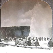 Yellowstone Park - Keystone Stereo View