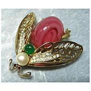 Large R. Mandle Bug Pin