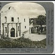 ALAMO Mission, San Antonio, Texas - Keystone Stereo View