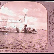 Morro Castle and Havana Harbor - Keystone Stereo View