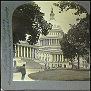 The Capitol, Washington D.C. - Keystone Stereo View