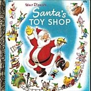 Walt Disney's Santa's Toy Shop - Christmas Holiday Little Golden Book LGB