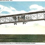 SALE Largest Aeroplane in the U.S. Post Card