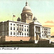 State Capitol, Providence, R.I. Post Card