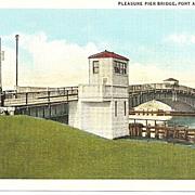 Pleasure Pier Bridge, Port Arthur, Texas
