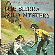 SOLD The Sierra Gold Mystery - Dana Girls Book by Carolyn Keene