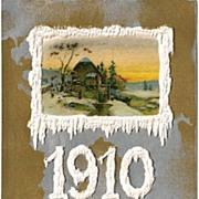 SOLD Winsch 1910 New Year Postcard