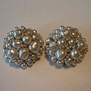 SOLD Gorgeous Coppola e Toppo Baroque Pearl Earrings