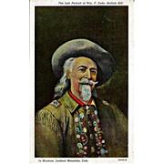 Buffalo Bill Portrait Postcard