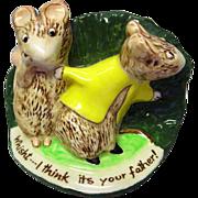 Kitty MacBride Guilty Sweethearts / Beswick Mice Figurine / Collectible Figurine / Beswick ...