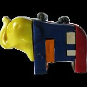 Elephant Key ring Puzzle / Vintage Key ring Puzzle / Vintage Elephant / Collectible Keyring ..