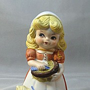 Adorabelles Girl Figural Bell by Jasco Dated 1979