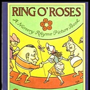 Ring O' Roses, A Nursery Rhyme Picture Book with drawings by L. Leslie Brooke