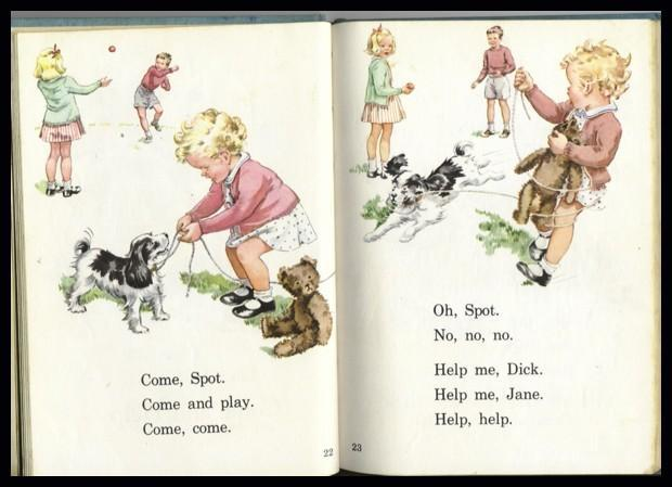 Dick And Jane Book Happy Days With Our Friends Reader