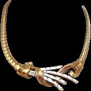 Trifari Rhinestone Necklace - Alfred Philippe 1949