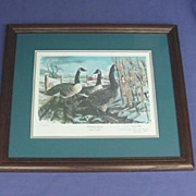 1989 Limited Edition Canadian Goose Print