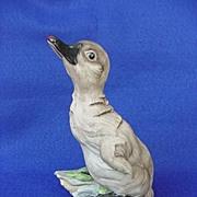 Vintage Boehm Standing Cygnet Figurine Signed