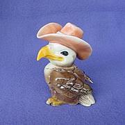 Vintage Goebel Cowboy Eagle Figurine