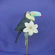 Willits Galleries Toucan Figurine