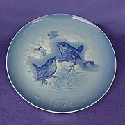 Vintage Hutschenreuther Germany Wren Plate