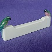SALE Vinatge Karl ENS Porcelain Parrot Knife Rest