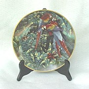 SOLD 1994 Lenox Scarlet Macaw Plate