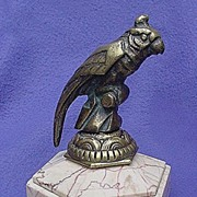Art Deco Cockatoo Bronze from France