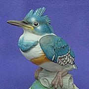 SOLD 1960's Boehm Fledgling Kingfisher