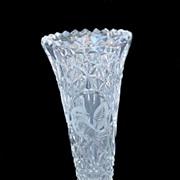 SOLD Hofbauer Byrdes Crystal Bud Vase w/ Original Sticker