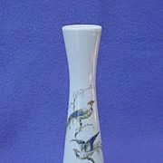 Vintage Alboth & Kaiser Bird of Paradise Bud Vase