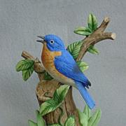 SOLD Danbury Mint Eastern Bluebird Figurine