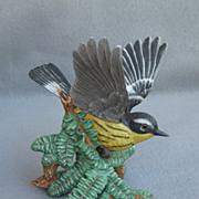 SOLD Lenox Magnolia Warbler Figure