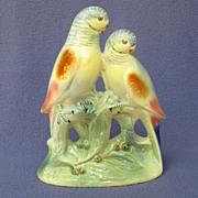 SOLD Spaulding China Parakeet Pair