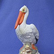 SOLD Hernando Castelnuovo Napcoware White Pelican