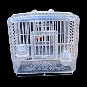 Mid Century Plastic Birdcage
