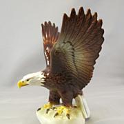 Goebel West Germany Vintage Bald Eagle Figure