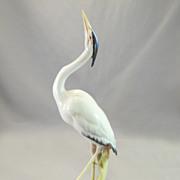 SOLD Hutschenreuther Heron Figurine