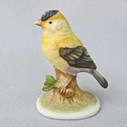 SOLD Vintage Lefton China Goldfinch KW6609