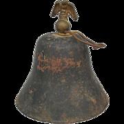 Primitive Bell w/ Eagle Finial