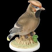 Lefton China Waxwing Figurine