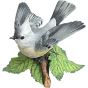 SOLD Lenox Porcelain Tufted Titmouse