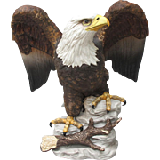 SOLD Limited Edition Stefani Bald Eagle Figurine Large