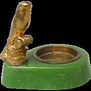 Art Deco Bakelite Budgie Pin Dish