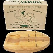 Vintage Slippery Duck Cutting Board